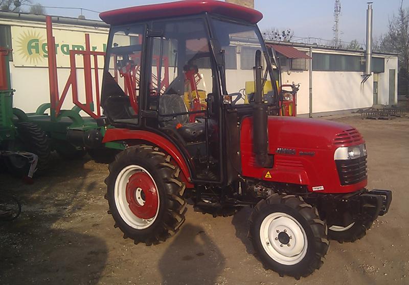 Jinma 344 traktor kabinnal