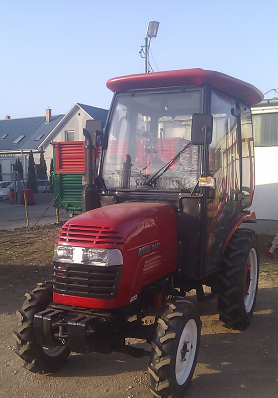 jinma 244 traktor kabinnal